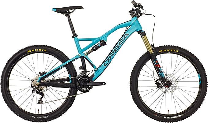 ORBEA rallon X30 Green de Black 2016 Mountain Bike fullsusp ension ...