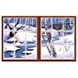 Winter Insta-View Party Accessory (1 count) (1/Pkg)