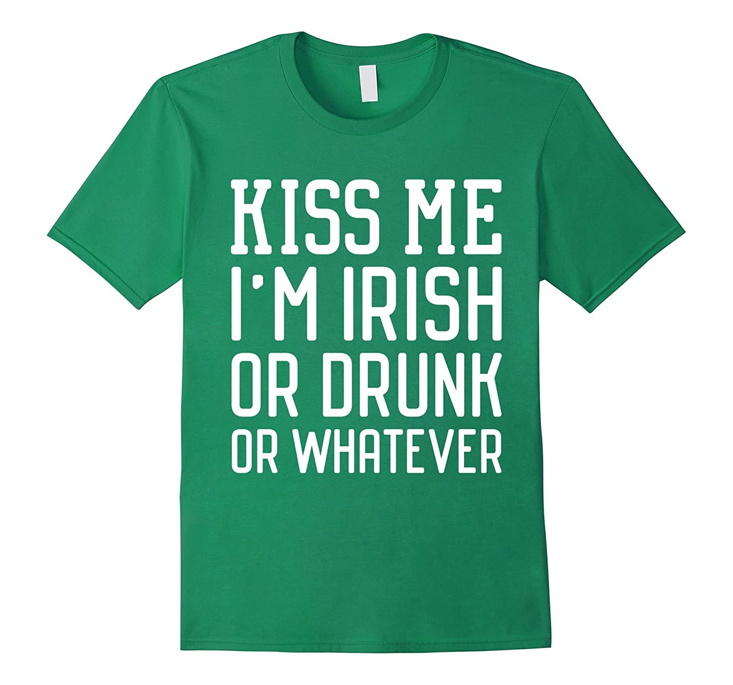 0e931e32d Kiss Me Im Irish – Funny St Patricks Day T-Shirts-TD – Teedep