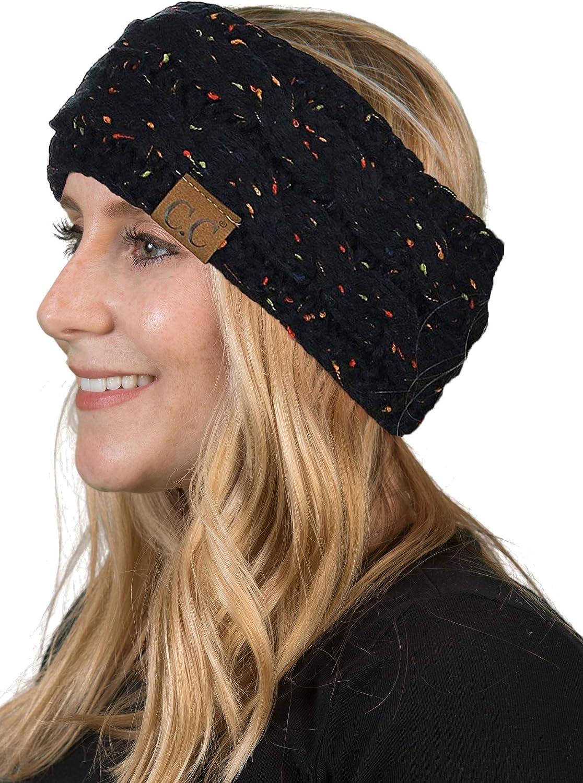 Details about  /Flower Headdress Knit Hair Band Ear Warmer Headbands Head Wrap Wide Hairband