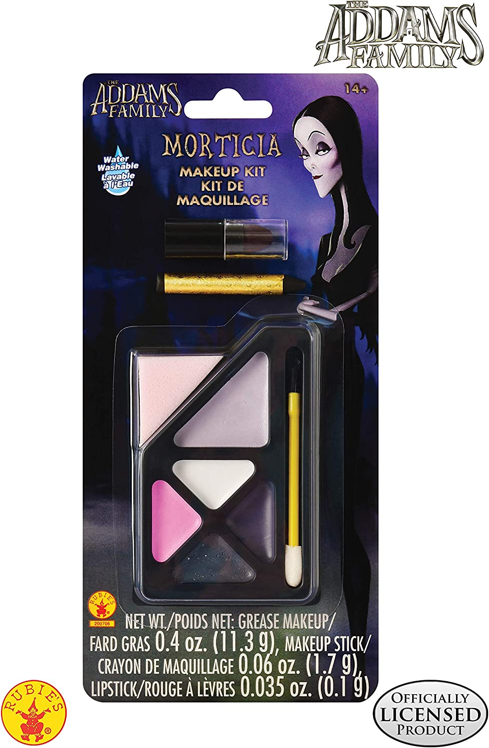 Rubies - The Addams Family Kids Morticia's Make-Up Kit