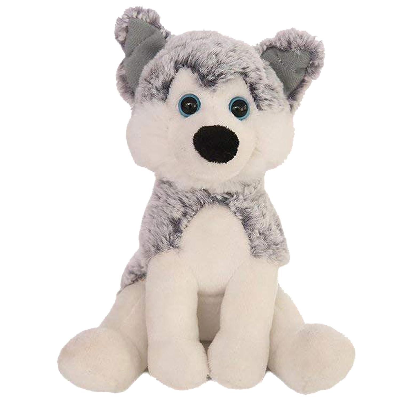 Amazon Com Plushland Realistic Stuffed Animal Toys Puppy Dog 8