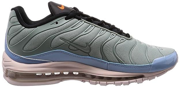Mens Air Max 97 Plus Gymnastics Shoes, Multicolor (Mica Green/Leche Blue/Black/Barely Rose 300), 6 UK Nike