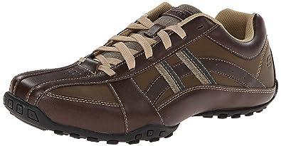 Skechers USA Men's Citywalk Malton Oxford Sneaker,Brown,7 ...