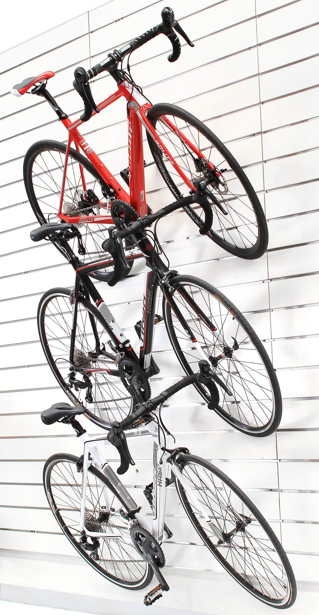 Venzo Bike Bicycle Cycling Pedal Wall Mount Storage Hanger
