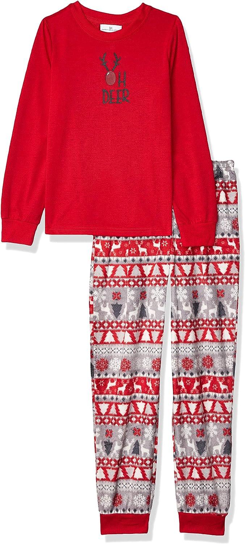 Karen Neuburger Womens Long Sleeve Pullover Pajama Set Pj Pajama Set