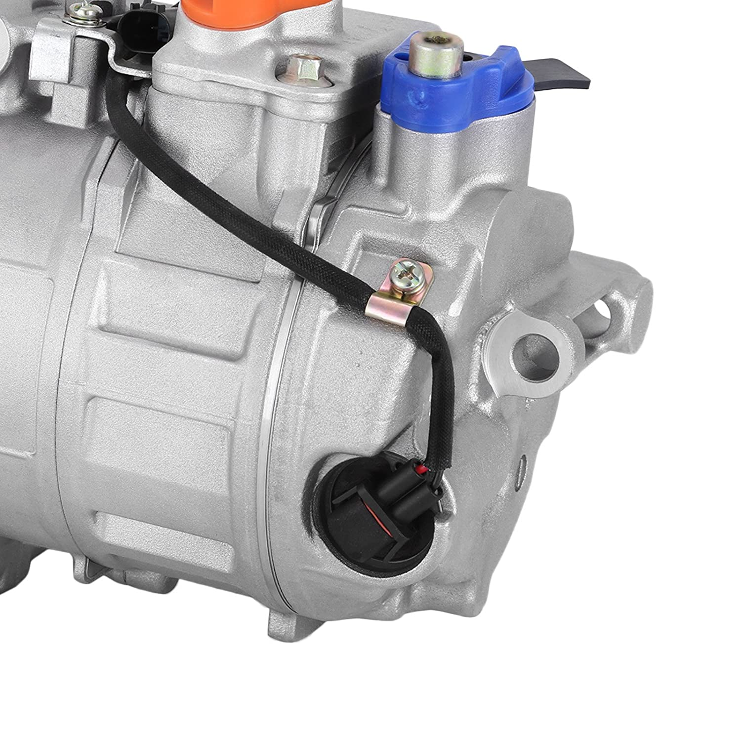 000230011 Universal Air Conditioner A//C Compressor for 06-11 Mercedes R350 03-06 S430//S500 0022301211 7SEU17C 98356 97356 Happybuy CO 10807JC