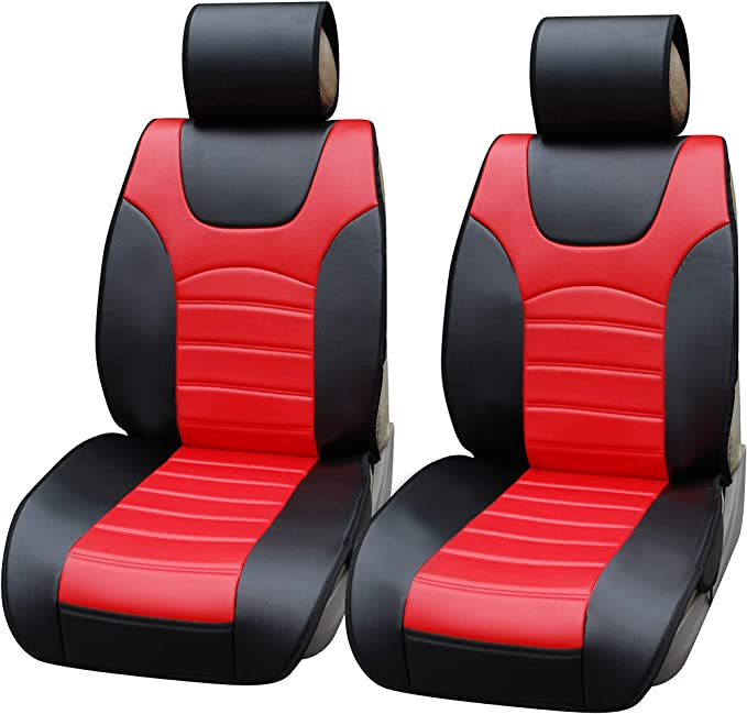 Black Titan Waterproof Car Front Seat Covers to fit Ford Fiesta 2017 Onwards