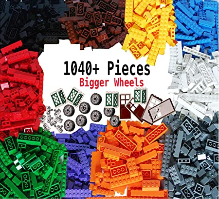 LEGO Girl Colors Brick Lot 100 Various Bricks 1x1 1x2 1x4 1x6 1x8 2x2 2x4 more