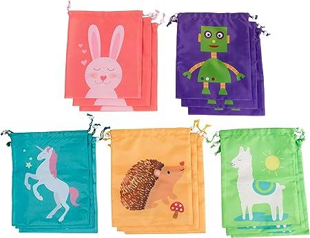 Amazon.com: Bolsas con cordón – 15 unidades de bolsa de ...