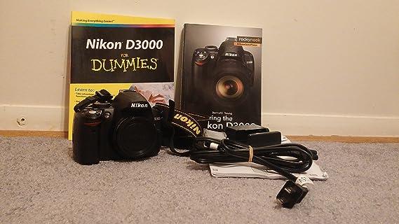 Nikon D3000 10.2MP Digital SLR Camera Body Only