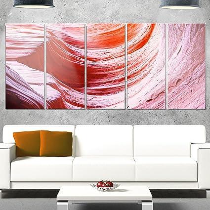 Amazon.com: Designart MT8787-401 Antelope Canyon Purple Wall ...