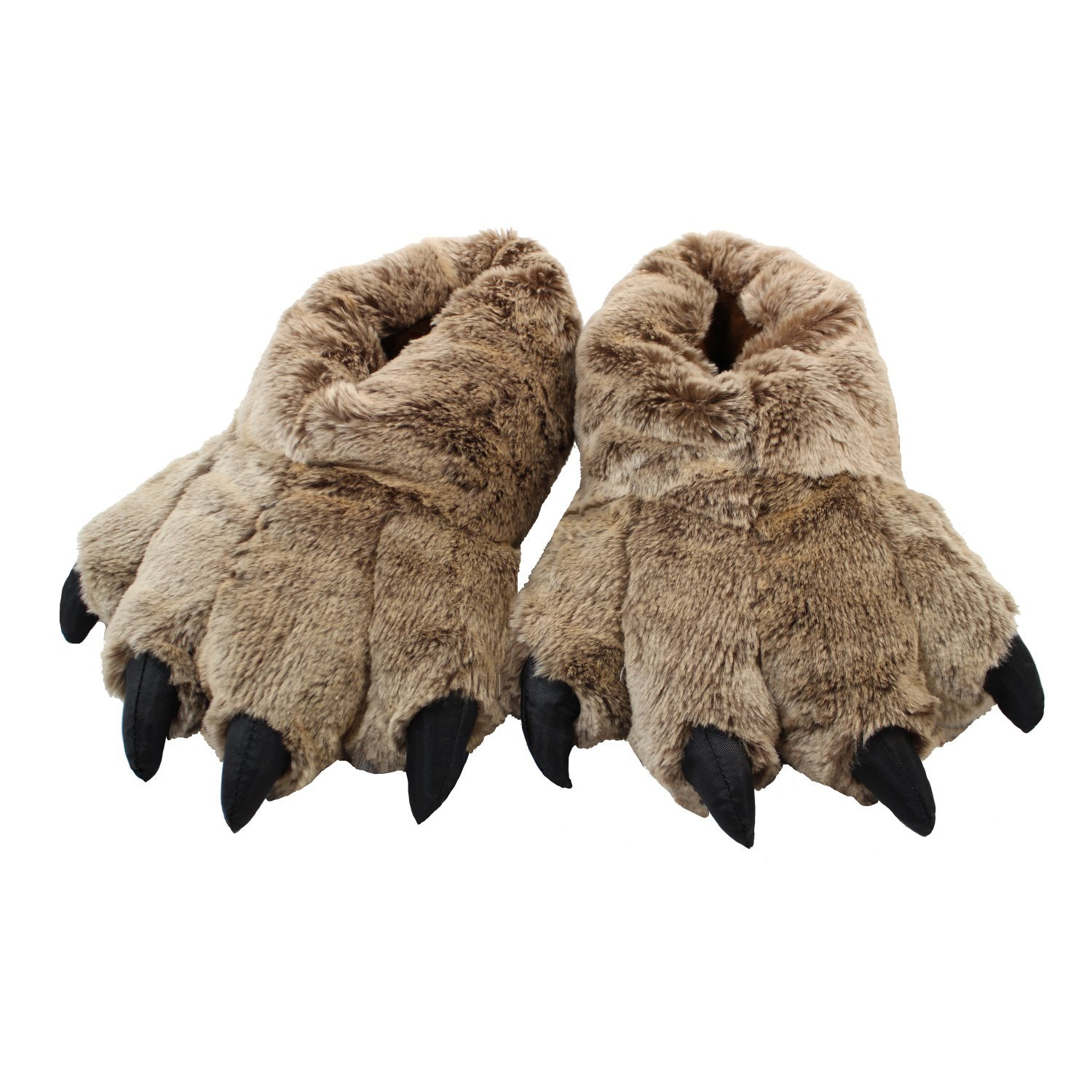Wishpets Timber Wolf Slippers