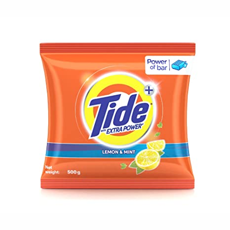 Tide with Extra Power - 500 g (Lemon and Mint)