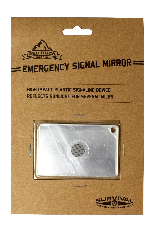 Red Rock Outdoor Gear Emergency Signal Mirror 06-030