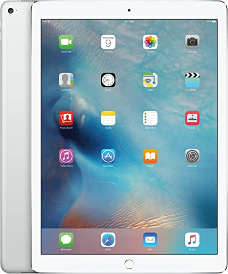 Amazon Com Apple Ipad Pro 128gb Wi Fi Silver 12 9in Tablet Renewed Computers Accessories