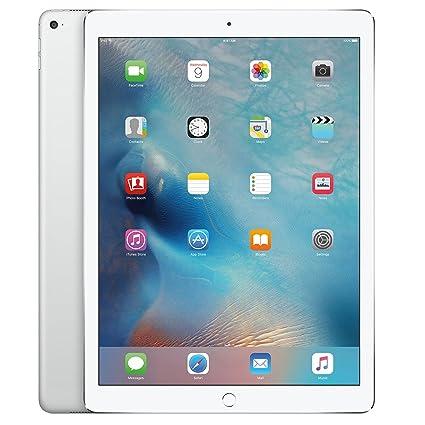 18e4bc25dda Amazon.com : Apple iPad Pro (128GB, Wi-Fi, Silver) 12.9in Tablet (Renewed)  : Computers & Accessories