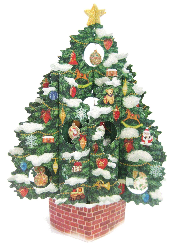 Thomas Kinkade Pop Up Christmas Tree