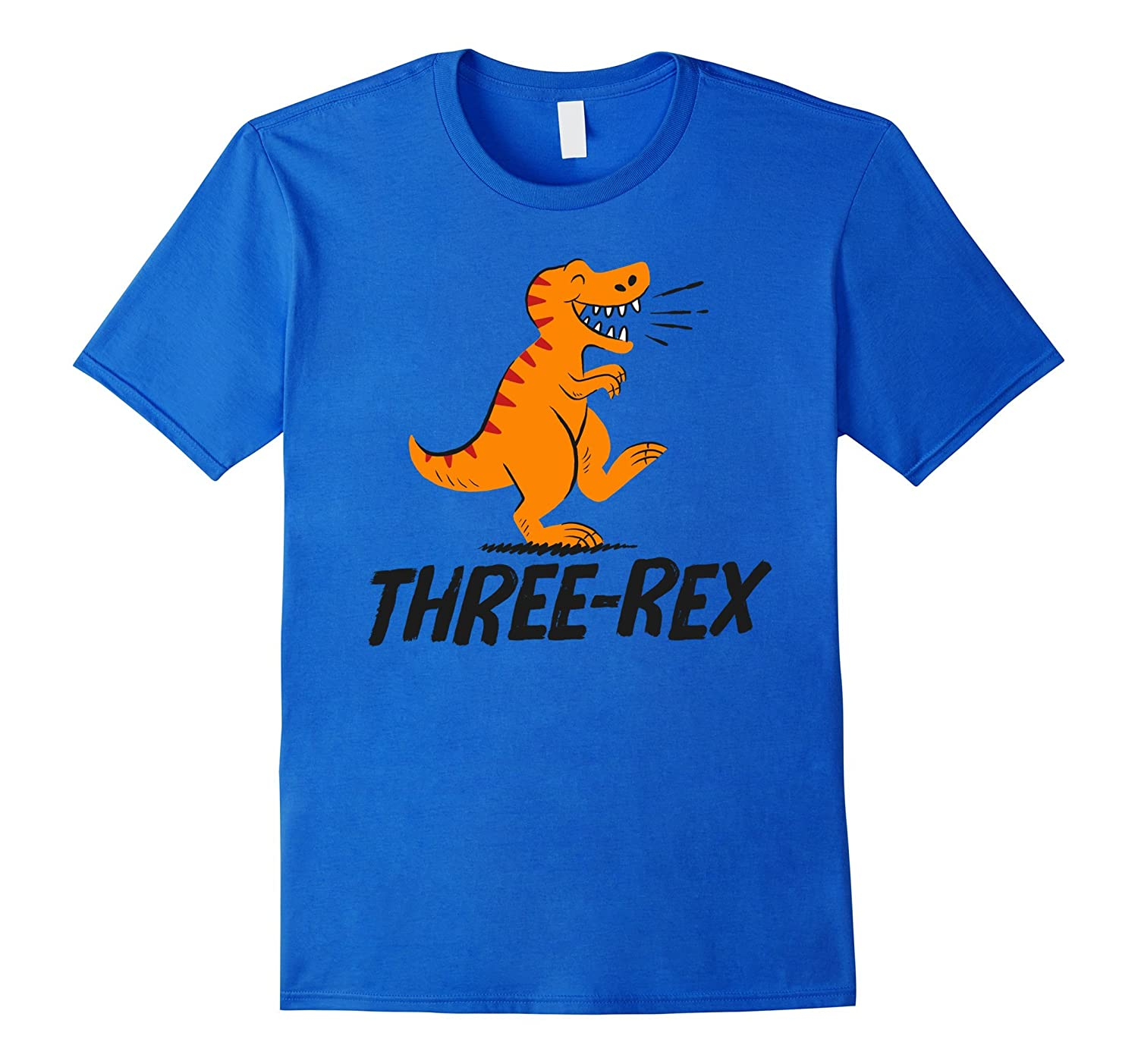 Three Rex Third 3rd Birthday Kids Dinosaur Themed T Shirt CD