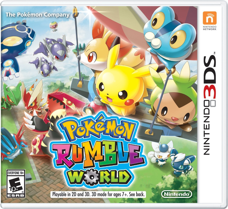 Pokémon Rumble World - Nintendo 3DS: nintendo_3ds: Computer and ...