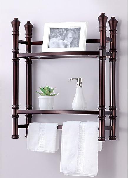 Amazon.com: Best Living Monaco Wall Mount/Countertop Etagere Shelf ...