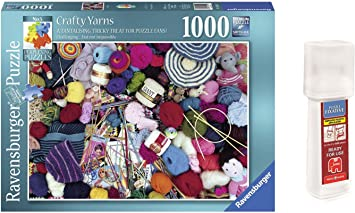 Pack Puzzle Ravensburger 19515. Taller de Costura. Crafty Yarns ...