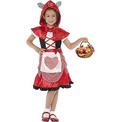 Smiffys 41100M Déguisement Enfant Mademoiselle Chaperon, Rouge, Taille M