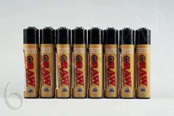 Amazonde 8 Mini Raw Clipper Lighters By Clipper