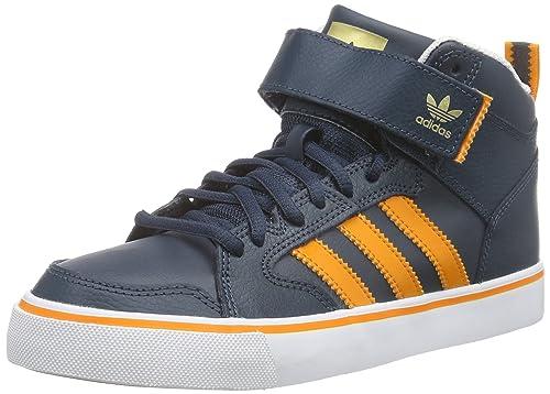 adidas Varial II Mid, Zapatillas para Hombre, Azul/Naranja/Blanco, 42 2/3 EU: Amazon.es: Zapatos y complementos