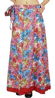 a8f785667e Phagun Single Layer Dress Cotton Floral Print New Wrap Skirt Long Sarong