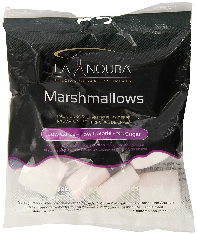 Marshmallows Sugar/Gluten Free Sugar Free Marshmellow 2.7 OZ - PACK OF 4 by La Nouba