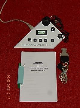 CK Electronic Pharma PMD 700, piel Dispositivo de diagnóstico, 4 dispositivos en 1 +
