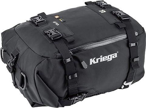Kriega Hecktasche Motorrad Motorradtasche Hecktasche Tankrucksack Us 20 Drypack Wasserdicht Schwarz Unisex Multipurpose Ganzjährig Nylon Auto