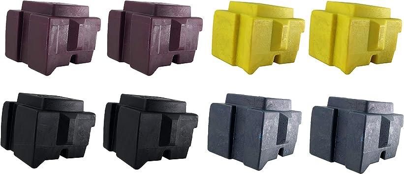 2 Sticks Xerox ColorQube 8570//8580 Cyan Solid Ink Pack 108R00926