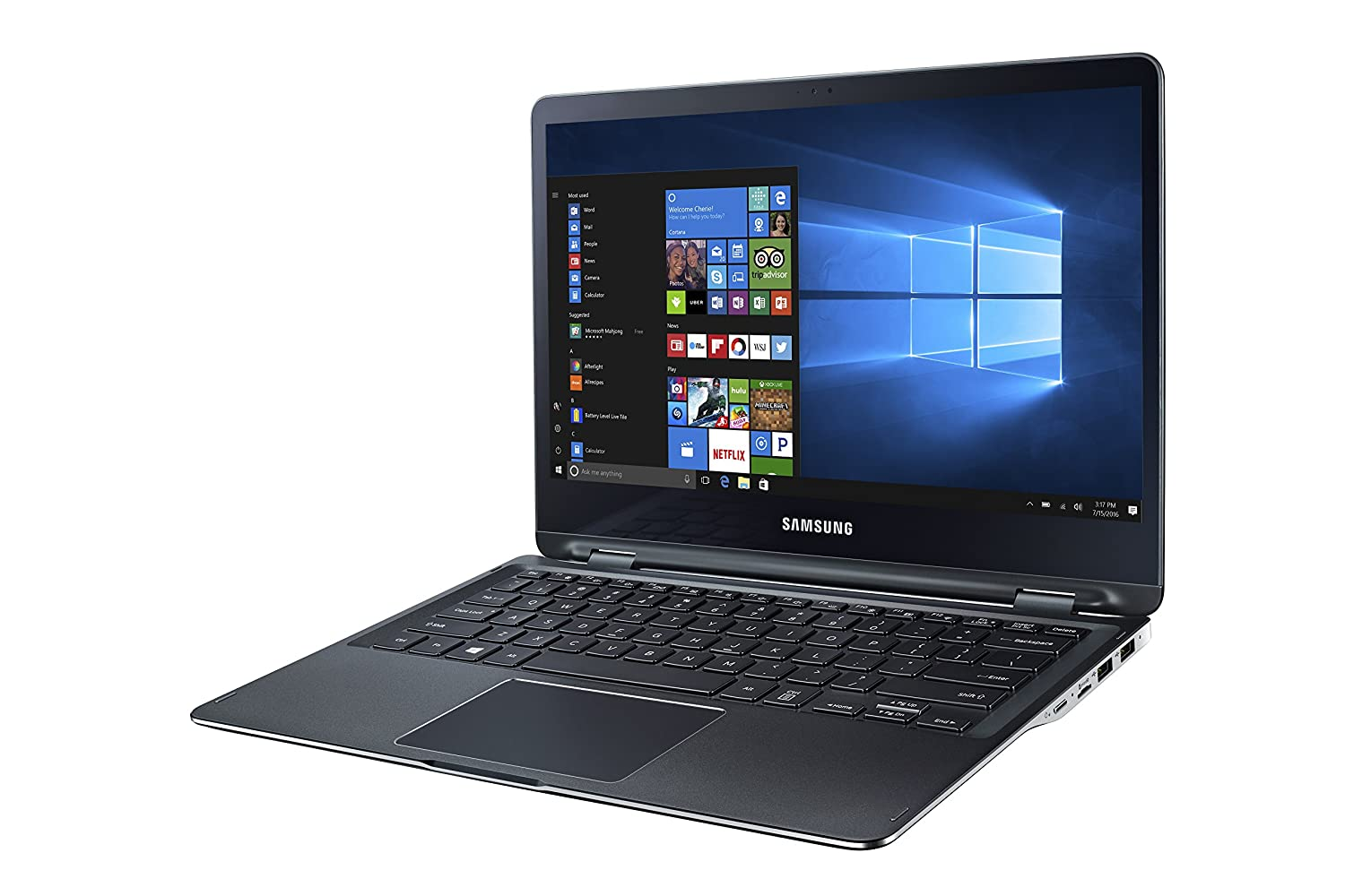 Notebook samsung ativ book 2 - Amazon Com Samsung Notebook 9 Spin Pure Black Np940x3l K01us Computers Accessories