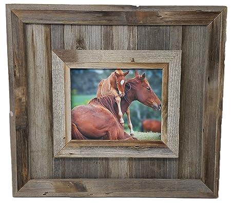 My Barnwood Picture Frames 16 X 20 Cheyenne Rustic Barn Wood Classic