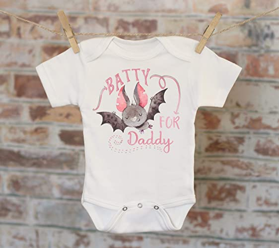 0131a98a Amazon.com: Batty For Daddy Bat Onesie®, Halloween Onesie, Fall Onesie,  Cute Baby Bodysuit, Cute Onesie, Boho Baby Onesie, Halloween Bat: Handmade
