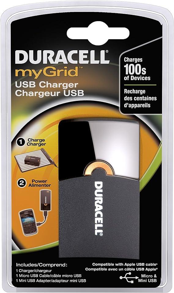Amazon.com: Duracell mygrid Cargador USB