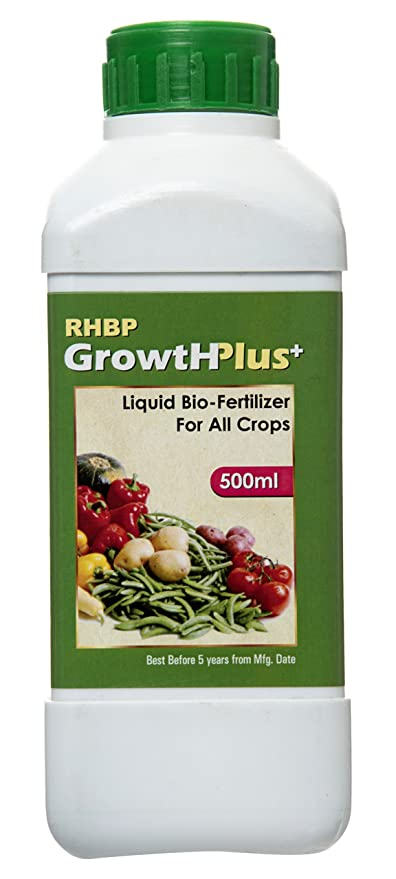 RHBP- Liquid Bio-Fertilizer For All Crops 500 ml 100% Organic, Perfect To Use On Indoor/Outdoor Plants