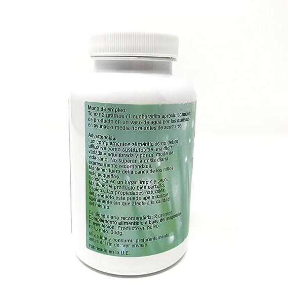Sal Epsom 300gr um complemento Alimenticio que fortalece tu cuerpo de forma natural: Amazon.es: Salud y cuidado personal
