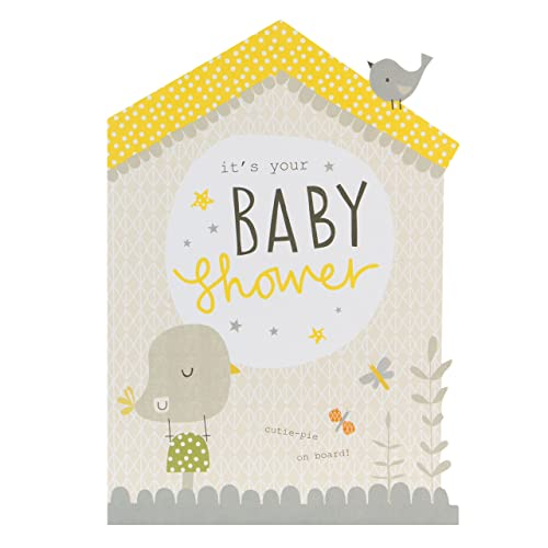 hallmark baby shower card cutie pie on board - Baby Shower Cards