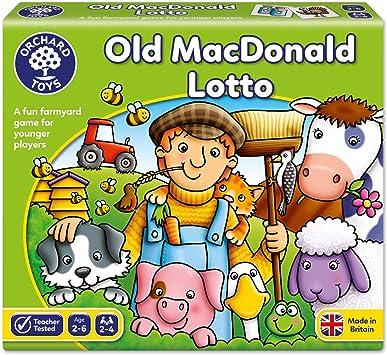 Orchad Toys 71 Old Macdonald Lotto - Juego de lotería para niños ...
