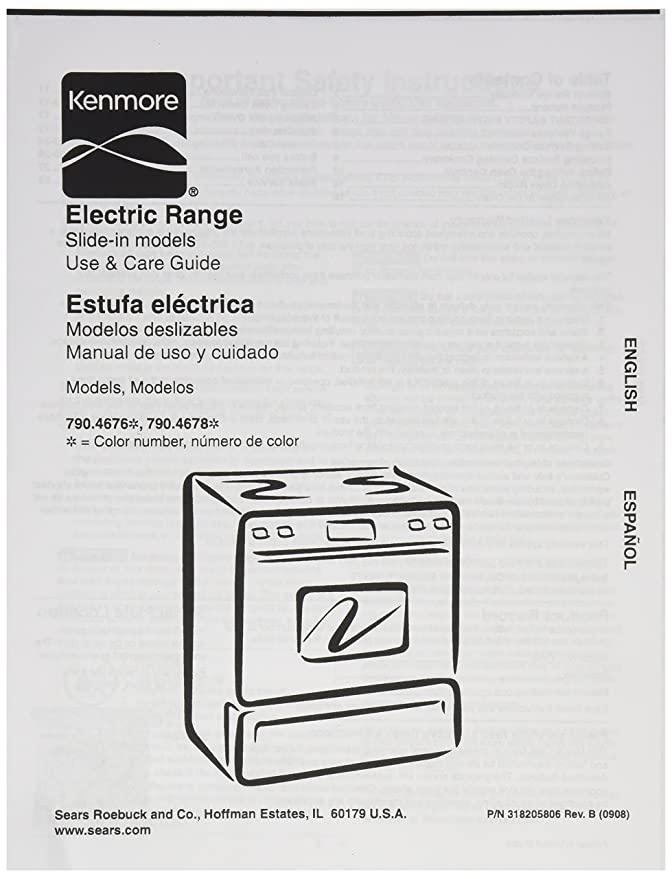 Amazon.com: Frigidaire 318205806 Range/Stove/Oven Owner Manual: Home Improvement