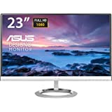 "Asus MX239H Monitor 23"", Full HD 1920x1080, IPS, B&O ICEpower speakers, Flicker Free, 250 cd/m2, Nero/Argento"