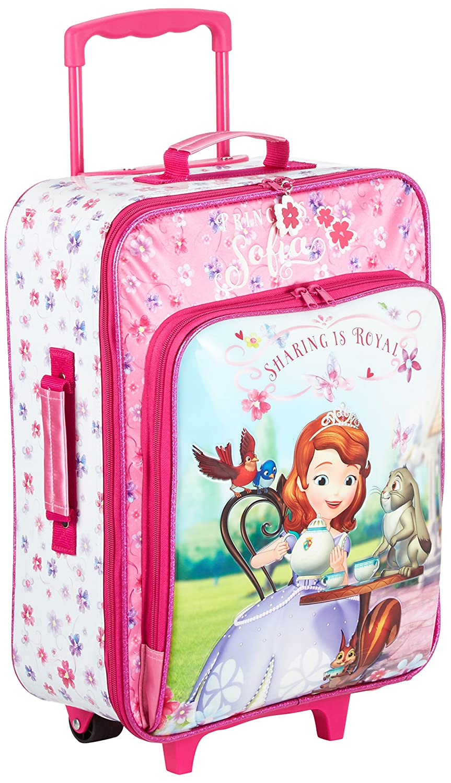 Disney 2049051 Kabinenkoffer Prinzessin Sofia Kindergepäck, 26 Liter, Pink