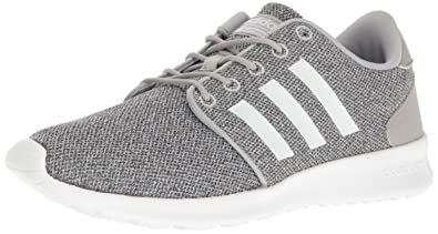 adidas neo women's cloudfoam qt racer casual shoes black