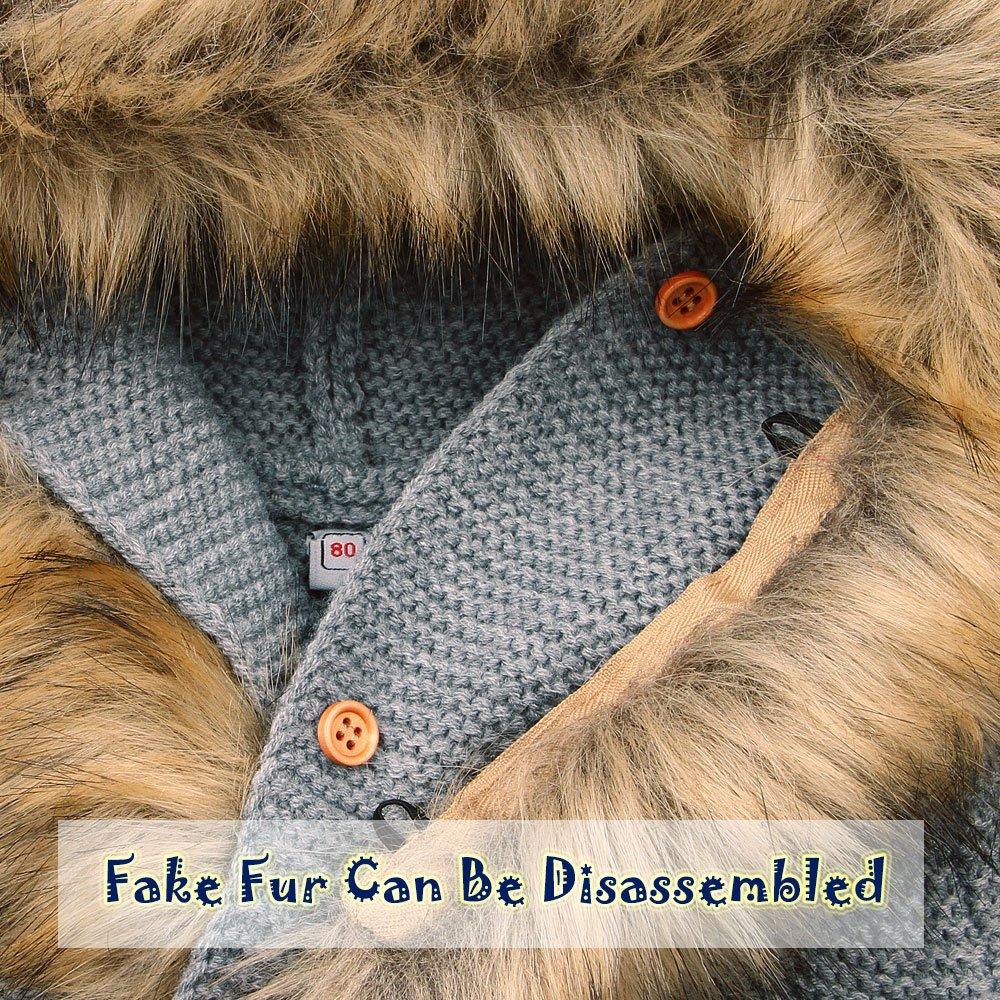 e9a2deef3904 mimixiong Baby Cardigan Sweater Jacket Cartoon Hoodies Long Sleeve ...
