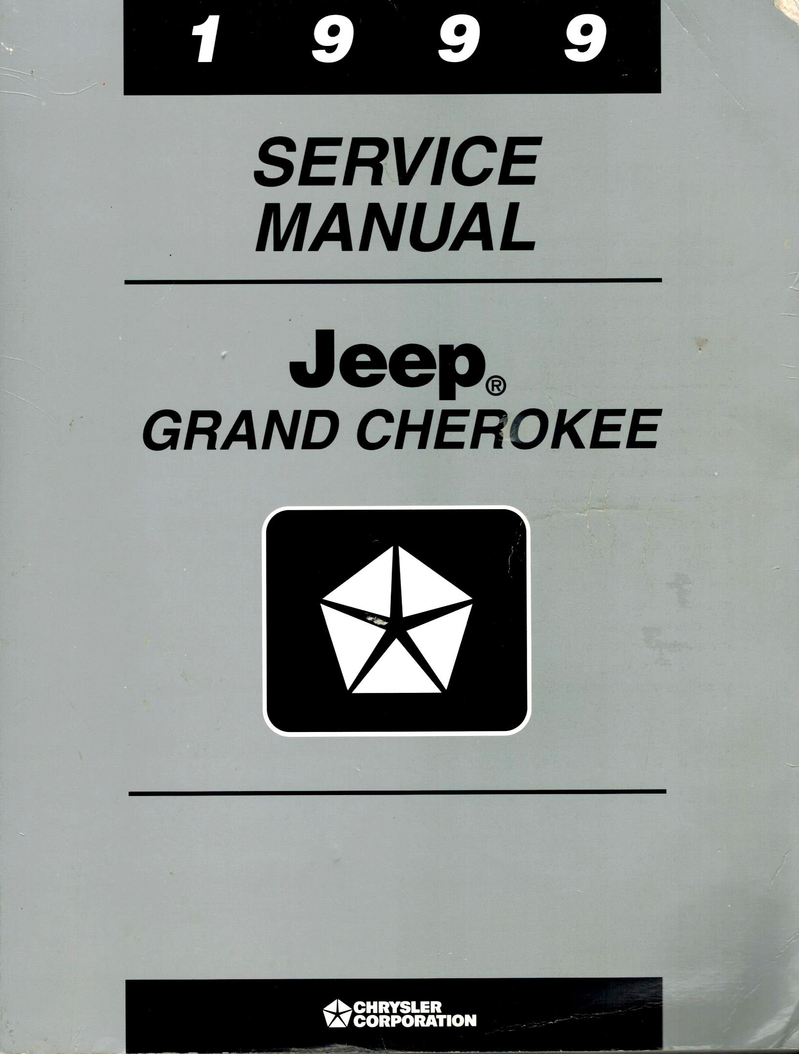 1999 Service Manual Jeep Grand Cherokee Paperback – 1998