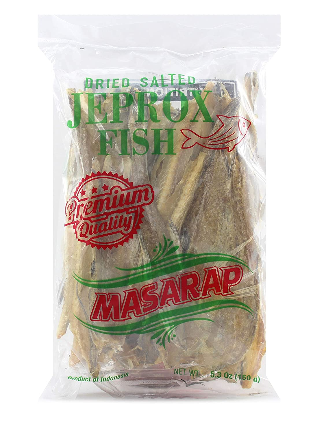 Masarap Dried Salted Jeprox   Tuyo   Daing Fish, 150 g (Pack of 1)
