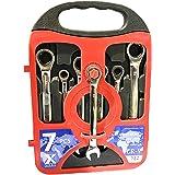 مجموعة مفاتيح العدة من فولاذ الكروم المرن - 7 قطع